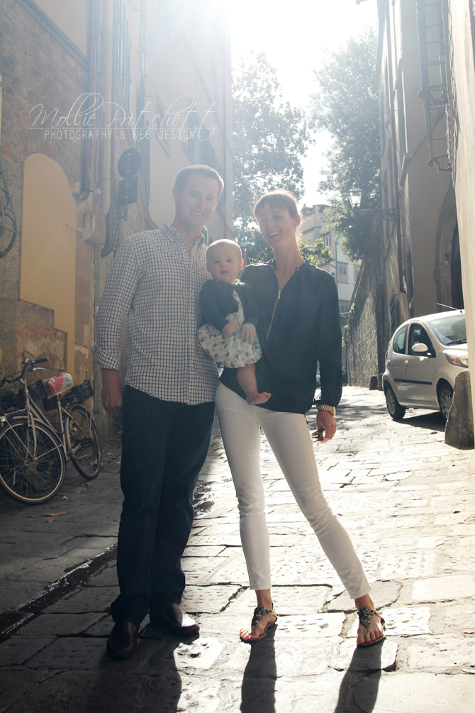 Florence Italy Family Portrait