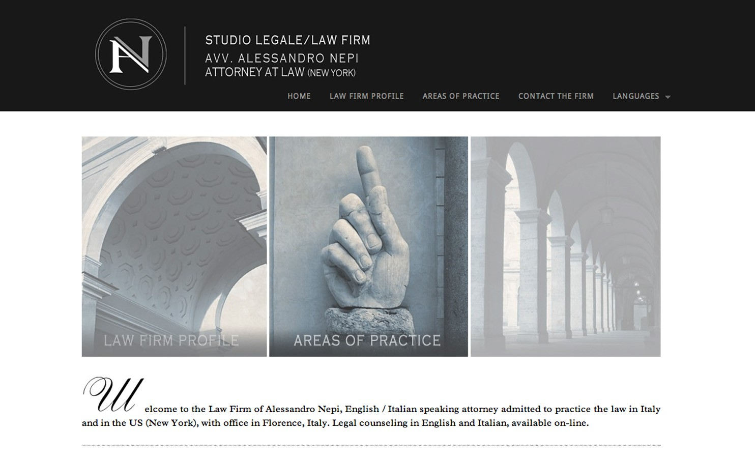 Studio Legale / Law Firm Avv. Alessandro Nepi / Attorney at Law (New York)