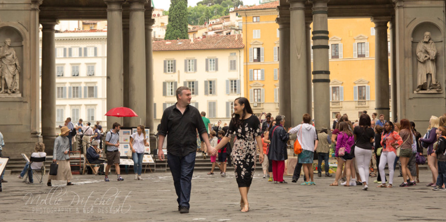 Honeymoon Photo Shoot in Florence Italy