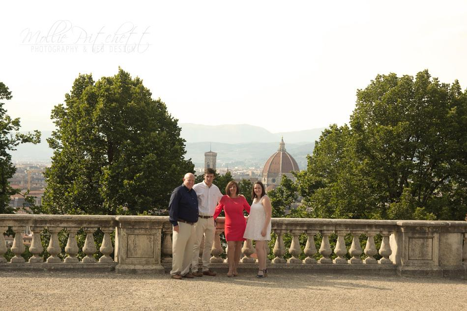 Family Photoshoot in Florence, Italy
