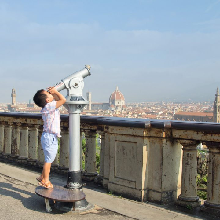 Family Portraits near Piazzale Michelangelo