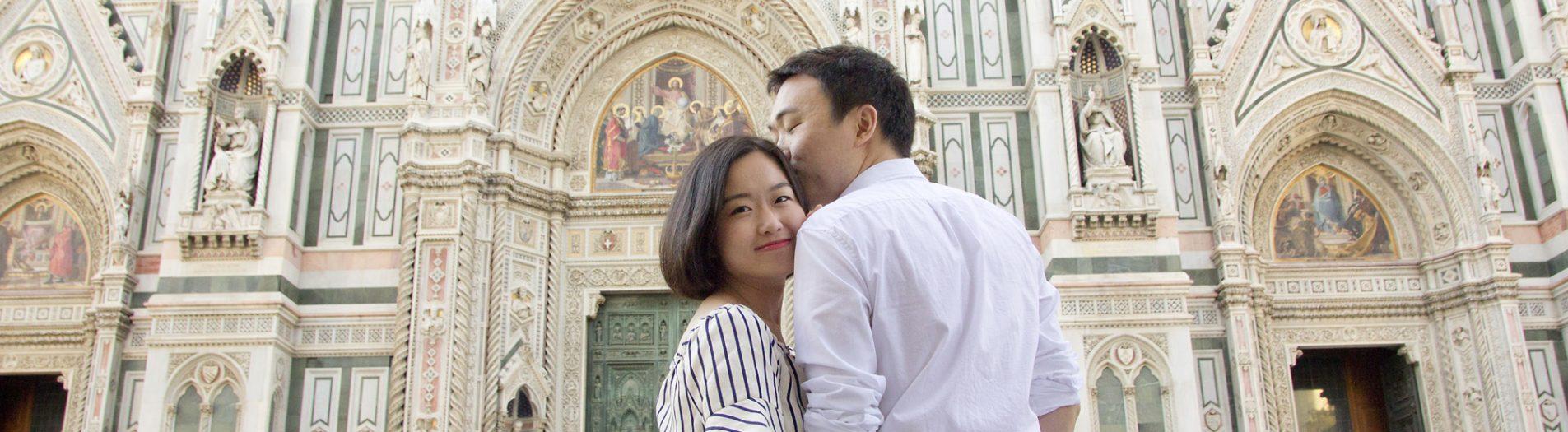 Florence, Italy Honeymoon Photoshoot