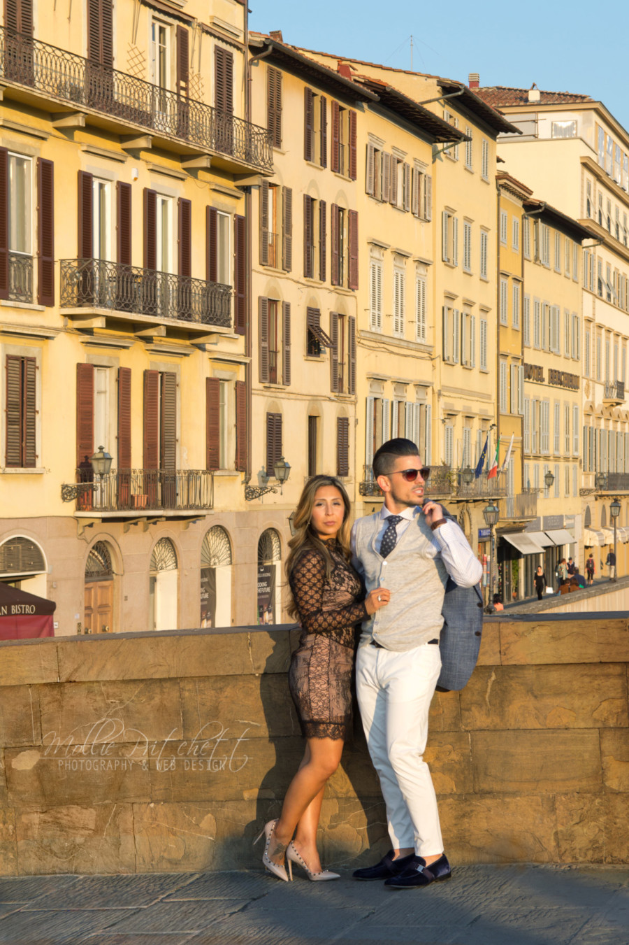 Anniversary Photoshoot in Florence, Italy