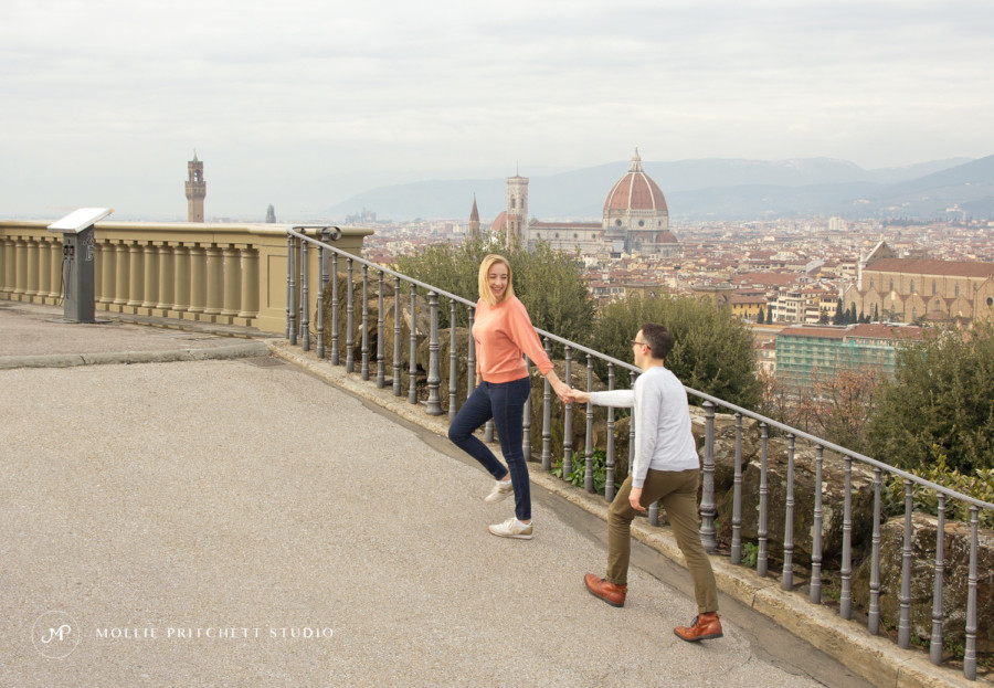 Destination Couples Portrait Photoshoot in Florence, Italy - Mollie Pritchett Studio