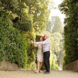 Anniversary Photoshoot in Boboli Gardens