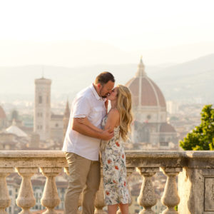 Summer Anniversary Photoshoot in Florence, Italy